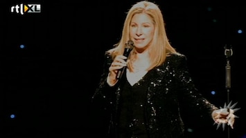 RTL Boulevard Barbara Streisand geeft fantastisch optreden