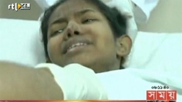 RTL Nieuws Vrouw levend uit puin Bangladesh gehaald