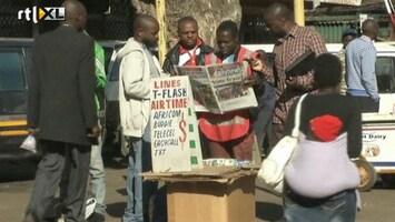 RTL Nieuws Zimbabwe: Stemmen met biljetten van overledenen