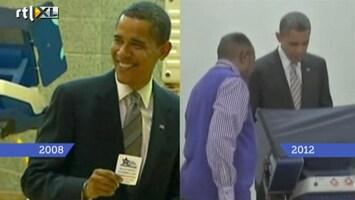 RTL Nieuws Obama: van verlosser tot fletse presidentkandidaat