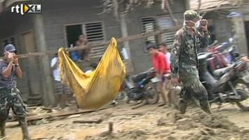 RTL Nieuws Lijkenhuizen Filipijnen overvol na storm