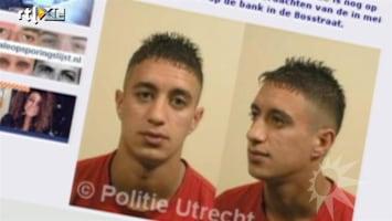 RTL Boulevard Tonen van foto's verdachten