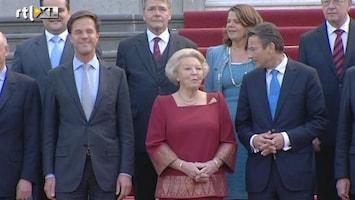 RTL Nieuws Beëdiging kabinet voor het eerst live op tv