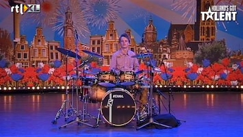 Holland's Got Talent Extra: Robin (drummer)