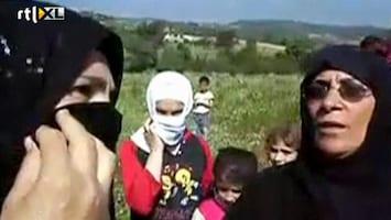RTL Nieuws Syriërs massaal op de vlucht
