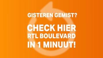 RTL Boulevard in 1 minuut van 13 maart