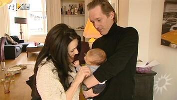 RTL Boulevard Bij Katarina Justic op babybezoek