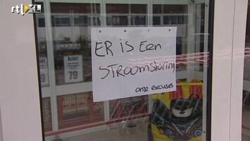 RTL Nieuws Stroomstoring Rotterdam door werkzaamheden