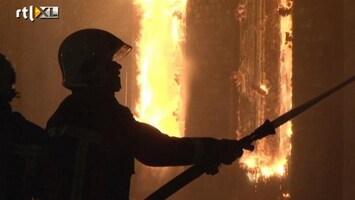 RTL Nieuws Weer grote brand in Winschoten