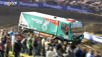 RTL GP: Dakar Pre-proloog RTL GP: Dakar Pre-proloog trucks
