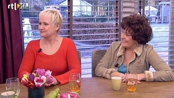 Koffietijd Hetty Heyting actrice in Denk aan Mij