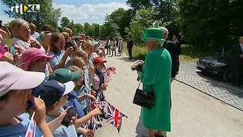 RTL Nieuws Queen Elizabeth wil op vakantie; baby mag nu wel komen