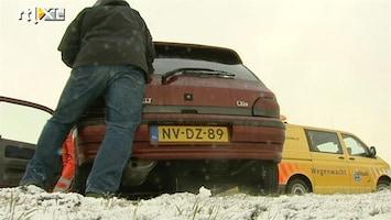 RTL Nieuws Extra mankracht bij ANWB voor winterse pechgevallen