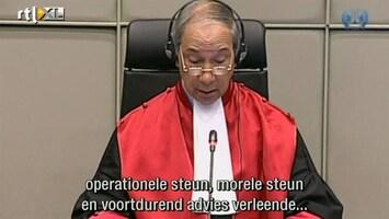 RTL Nieuws Oorlogsmisdadiger Taylor veroordeeld