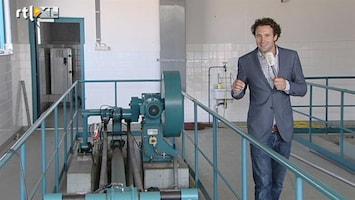 """RTL Nieuws """"Riool bron van informatie voor drugsonderzoek"""""""