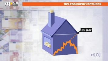 RTL Nieuws Zorgen rond beleggingshypotheken