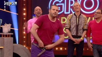 De Grote Improvisatieshow Er kunnen wel vier man in!