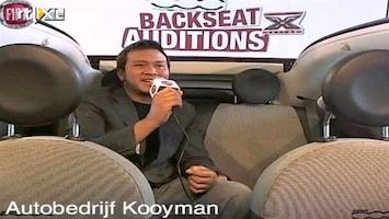 X Factor Fiat 500 Backseat Auditions: Jordi