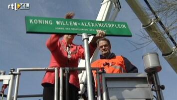 RTL Nieuws Velp heeft primeur: Het Koning Willem-Alexanderplein