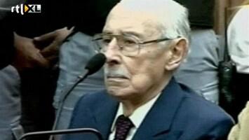 RTL Nieuws 50 jaar cel voor oud-dictator Videla