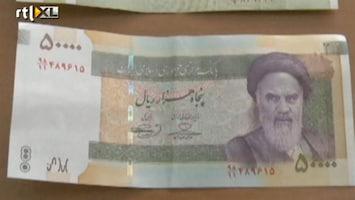 RTL Nieuws Waarde Iraanse munteenheid bijna gehalveerd