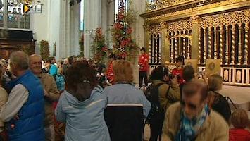 RTL Nieuws Drukte bij de Nieuwe Kerk
