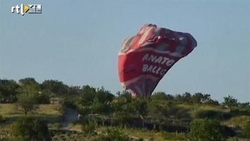 RTL Nieuws Luchtballonnen botsen tegen elkaar: 1 dode