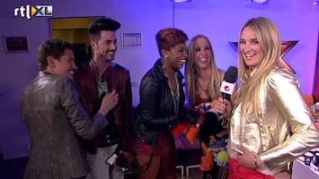 X Factor 'We gaan het liefst uit de kleren'