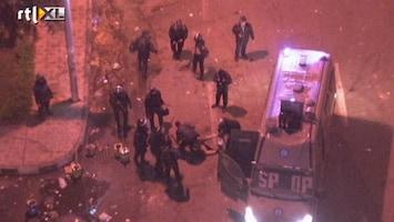 RTL Nieuws Schokkende beelden: betoger mishandeld