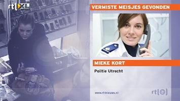 RTL Nieuws Tips leiden naar vermiste meisjes