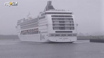 RTL Nieuws IJmuiden opent cruiseterminal
