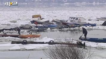 RTL Nieuws Schade door kruiend ijs Donau