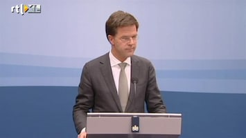 RTL Nieuws Rutte: prematuur te moeilijk voor PVV