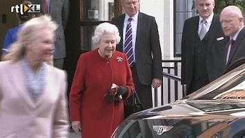 RTL Nieuws Queen Elizabeth uit het ziekenhuis