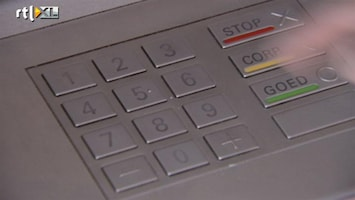 RTL Nieuws Meer fraude met pin en internetbankieren