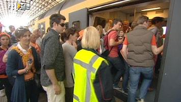RTL Nieuws Koninginnedag 2011: geen alcohol in trein