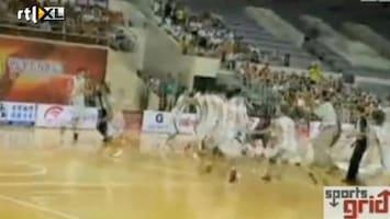 RTL Nieuws Basketbalwedstrijd wordt knokpartij