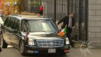 RTL Boulevard Auto Obama strandt op heuvel