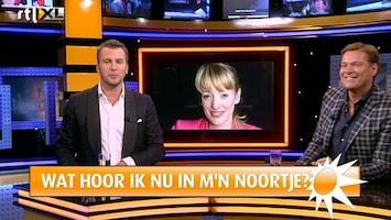 RTL Boulevard Noortje Herlaar achter de schermen bij De Producers