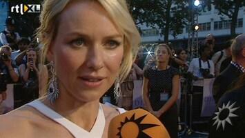 RTL Boulevard Op de rode loper bij première Diana in Londen