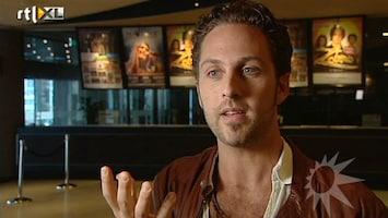 RTL Boulevard Christophe Haddad maakt musicaldebuut