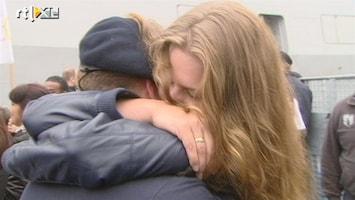 RTL Nieuws Tranen bij terugkeer Tromp