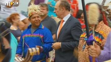 RTL Nieuws Indianen vieren 400-jarig verdrag met Nederlanders