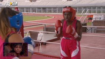 RTL Late Night Zarayda de boksring in