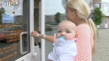 Samantha En Michael Willen Rust In De Tent! Oorbellen voor baby Naomi