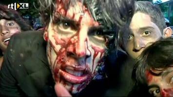 RTL Nieuws Bloederige mars van zombies in Caracas