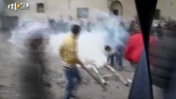 RTL Nieuws Opnieuw rellen op Tahrirplein