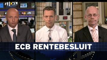 RTL Z Voorbeurs Vanmiddag nog geen rentestap ECB