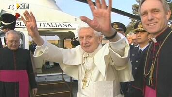 RTL Nieuws Benedictus heeft het Vaticaan verlaten