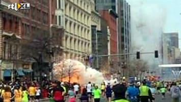 Editie NL 2 explosies bij marathon Boston: minstens 2 doden